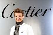 Jeremy Renner attends Cartier celebration of the launch of Santos de Cartier Watch at Pier 48 on April 5, 2018 in San Francisco, California.