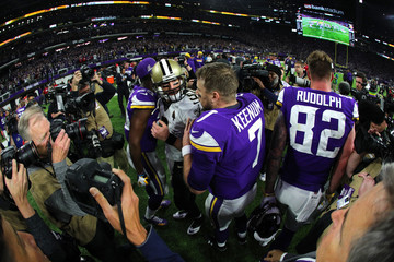 Case Keenum Divisional Round - New Orleans Saints v Minnesota Vikings