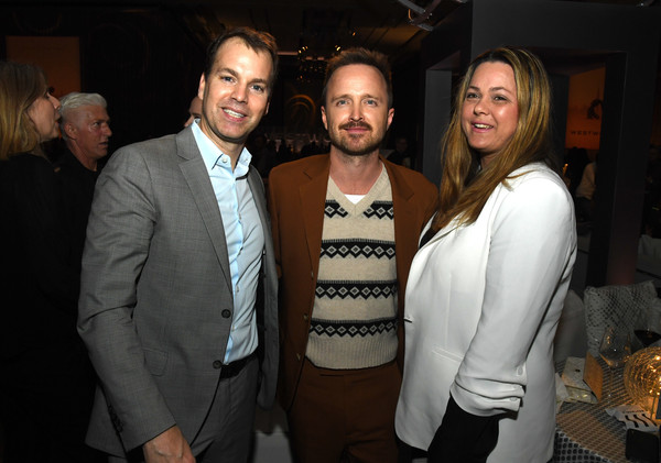 "Premiere Of HBO's ""Westworld"" Season 3 - After Party [season,westworld,event,fashion,suit,formal wear,fun,smile,party,francesca orsi,aaron paul,l-r,hbo,party,premiere,party,premiere,francesca orsi,aaron paul,westworld,hbo,livingly media,fashion,photograph,premiere]"