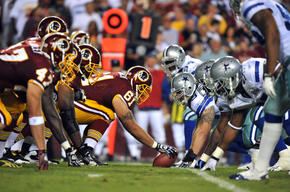 Washington Redskins and Dallas Cowboys