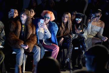 Casey Spooner Laquan Smith - Front Row - February 2018 - New York Fashion Week: The Shows