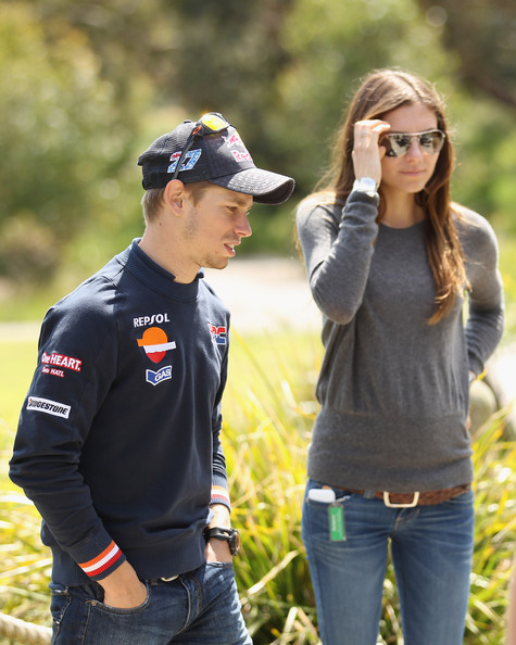 Casey Stoner and Adriana Stoner - MotoGP of Australia - Previews