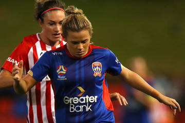 Cassidy Davis W-League Rd 14 - Newcastle v Melbourne