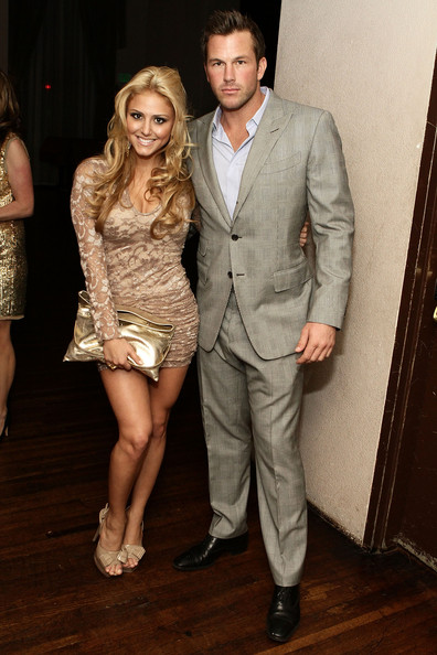 Cassie Scerbo and Doug Reinhardt at The Wilshire Ebell Theatre in 2010