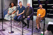 Da'Vine Joy Randolph, David H. Holmes, Nick Hornby and Zoe Kravitz of Hulu's High Fidelity sit down for an interview at the SiriusXM Studios on February 14, 2020 in New York City.
