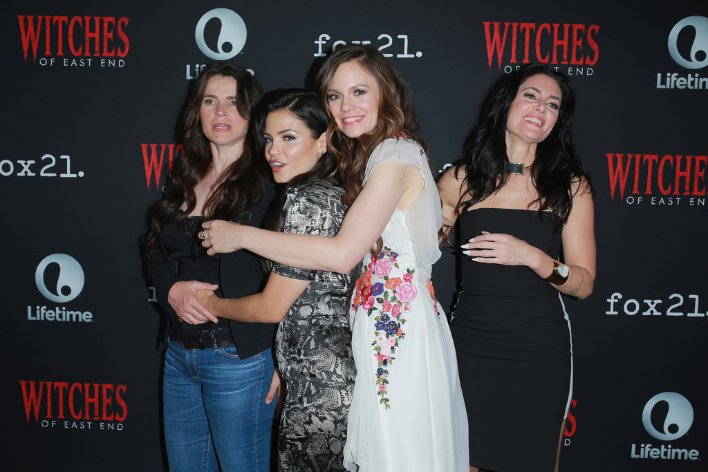 Julia Ormond Rachel Boston Madchen Amick Jenna Dewan Tatum Rachel Boston And Madchen Amick Photos Witches Of East End Season 2 Premiere Zimbio
