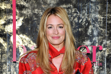 Cat Deeley harper by Harper's BAZAAR At Violet Grey With Rosie Huntington-Whiteley