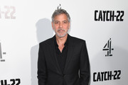 "George Clooney attends the ""Catch 22"" UK premiere on May 15, 2019 in London, United Kingdom."