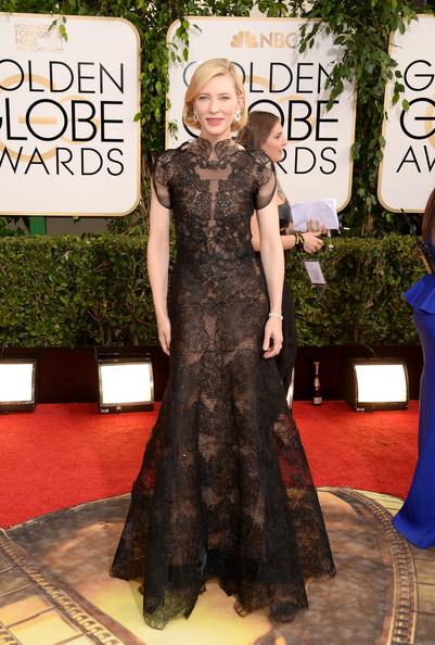 Cate Blanchett - 71st Annual Golden Globe Awards - Arrivals