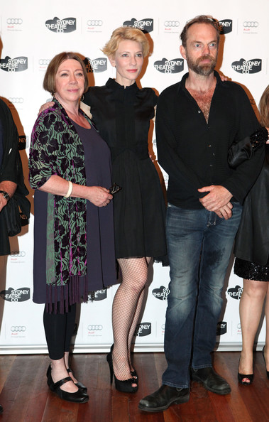 Cate Blanchett Sandy Gore, Cate Blanchett and Hugo Weaving attend the opening night of 'Uncle Vanya' at Sydney Theatre on November 13, 2010 in Sydney, Australia.