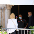 Cate Blanchett Celebrity Excelsior Arrivals During The 77th Venice Film Festival - Day 11