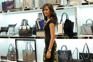 Caterina Balivo Michael Kors to Celebrate Milano Cocktail Party