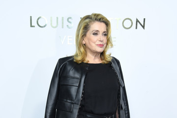 Catherine Deneuve Louis Vuitton's Boutique Opening At Place Vendome - Paris Fashion Week Womenswear Spring/Summer 2018