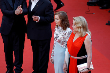 Catherine Deneuve 70th Anniversary Red Carpet Arrivals - The 70th Annual Cannes Film Festival