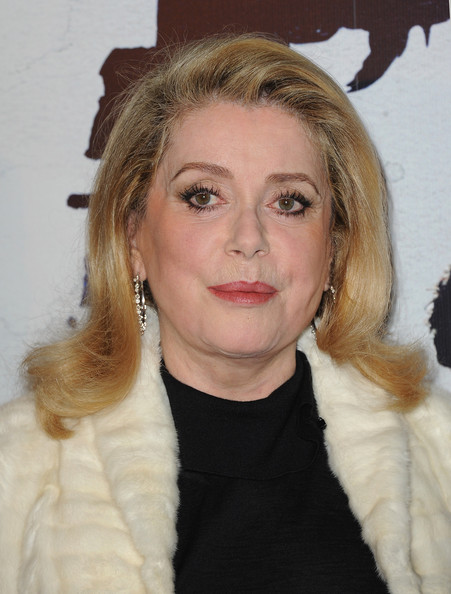 Catherine Deneuve Catherine Deneuve attends the premiere for 'L'homme Qui Voulait Vivre Sa Vie' at Cinema Gaumont Marignan on October 28, 2010 in Paris, France.