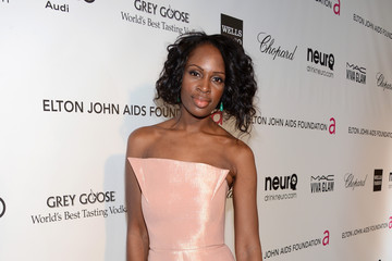 Catherine Kallon Elton John's Academy Awards Viewing Party