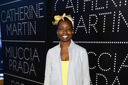 Actress Adepero Oduye attends Catherine Martin And Miuccia Prada Dress Gatsby Opening Cocktail on April 30, 2013 in New York City.