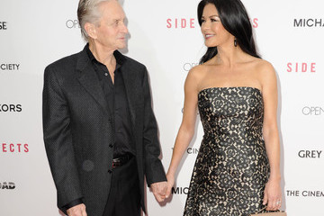 """Catherine Zeta Jones Michael Douglas Open Road With The Cinema Society And Michael Kors Host The Premiere Of """"Side Effects"""" - Arrivals"""