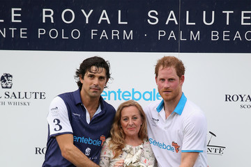 Cathy Ferrier Sentebale Royal Salute Polo Cup in Palm Beach With Prince Harry - Polo