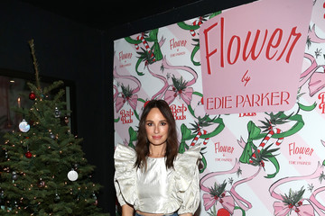 Catt Sadler Best Buds Holiday Party With Kacey Musgraves And Flower By Edie Parker Flower