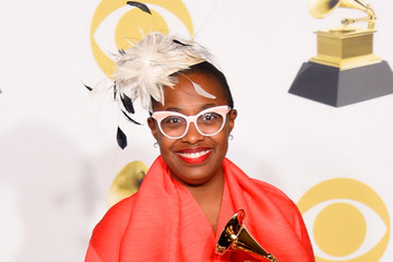 Cecile McLorin Salvant 60th Annual GRAMMY Awards - Press Room