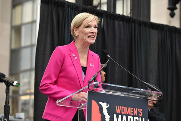 Cecile Richards Women's March On Washington - Rally