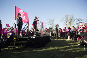 Cecile Richards Schumer, Patty Murray Attend Pro Planned Parenthood Rally on Capitol Hill