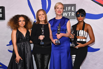 Cecile Richards LIFEWTR Winner's Walk at CFDA Awards 2017