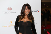 Leeann Tweeden arrives on the red carpet at the 2015 Cedars-Sinai Sports Spectacular at the Hyatt Regency Century Plaza on May 31, 2015 in Century City, California.