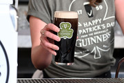 A pint of Guinness Draught is poured to celebrate the countdown to St. Patrick's Day with special guest Nick Offerman on February 28, 2020 in New York City.