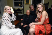 Maddie Hasson, Noel De Souza, guest and Missi Pyle attend a Celebration of YouTube Originals at Chateau Marmont on November 13, 2018 in Los Angeles, California.