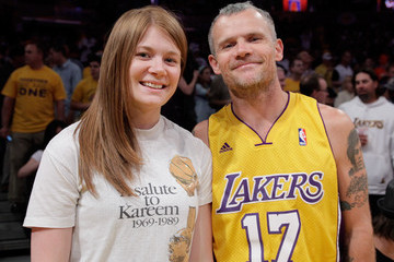 Clara Balzary Celebrities At The Lakers Game