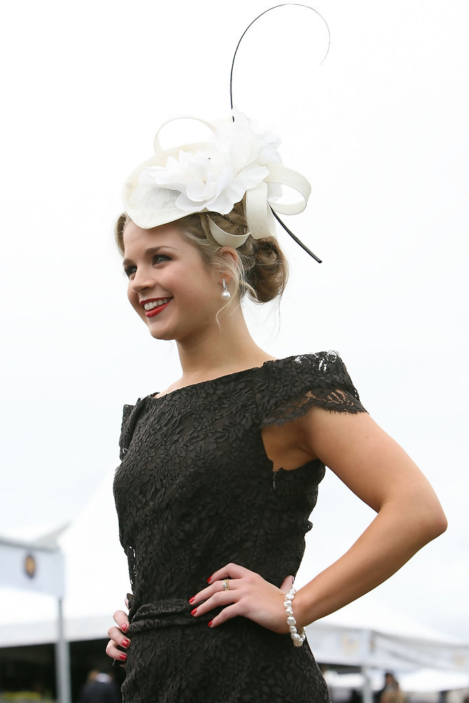 All the colour and fashion from the Caulfield Cup - SkullFunk