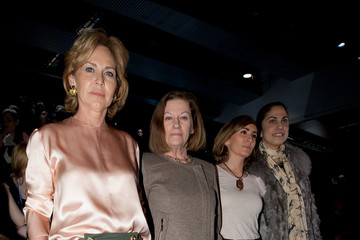 Toni Costa Celebrities Attend Cibeles Fashion Week A/W 2011 - Day 3