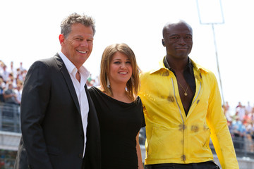 David Foster Celebrities Attend The Indianapolis 500 Mile Race
