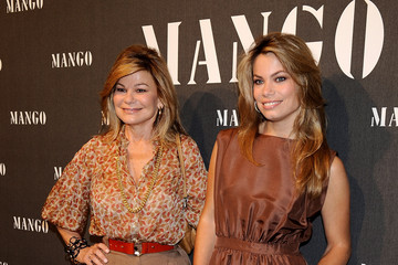 Cary Lapique Celebrities Attend Mango New Collection Presentation in Madrid