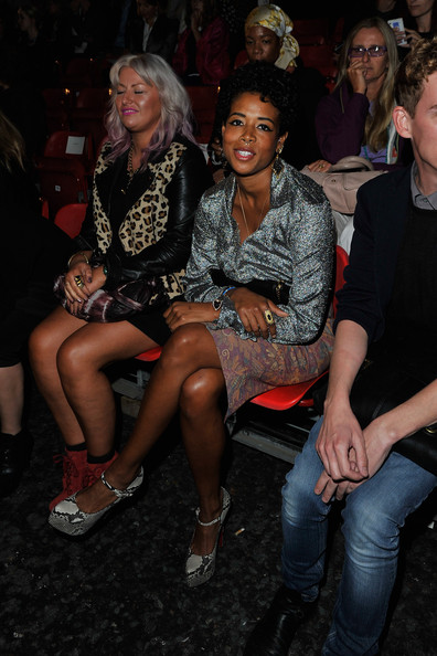 Kelis shows her sense of style is in the genes as son Knight ...