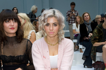 Marina Diamandis Celebrities On The Front Row at London Fashion Week Spring/Summer 2012