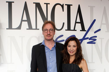 Michelle Yeoh David Thewlis Celebrities At The Lancia Cafe - October 27, 2011