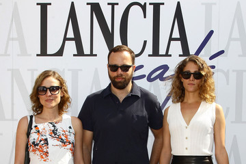 Aggeliki Papoulia Ariane Labed Celebrities At The Lancia Cafe - September 4, 2011