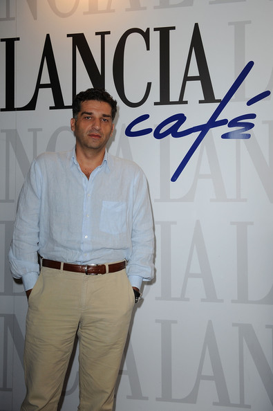 Celebrities At the Lancia Cafe: September 6, 2010