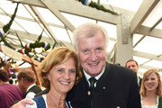 Horst Seehofer and Karin Seehofer Photos Photo