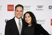 Jorge Valencia and Valerie Smaldone attend Celebrities Support LGBTQ Education at Point Honors Gala New York at The Plaza Hotel on April 08, 2019 in New York City.