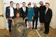 Peppermint, Jorge Valencia, Gus Kenworthy, Jonathan Van Ness and Miah Miller attend Celebrities Support LGBTQ Education at Point Honors Gala New York at The Plaza Hotel on April 08, 2019 in New York City.
