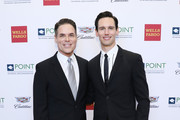 Jorge Valencia and Cory Michael Smith attends Celebrities Support LGBTQ Education at Point Honors Gala New York at The Plaza Hotel on April 08, 2019 in New York City.