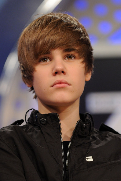 Singer Justin Bieber visits BET's 106 & Park at BET Studios on March 22, 2010 in New York City.