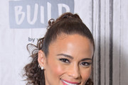 """Paula Patton visits Build to discuss  the movie """"Sacrifice"""" at Build Studio on December 18, 2019 in New York City."""