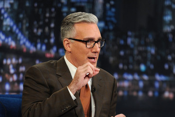 """Keith Olbermann Celebrities Visit """"Late Night With Jimmy Fallon"""" - June 16, 2011"""