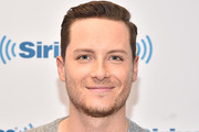 (EXCLUSIVE COVERAGE) Jesse Lee Soffer visits SiriusXM Studios on November 18, 2019 in New York City.