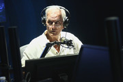 Pat Boone visits the SiriusXM Studios In Los Angeles at SiriusXM Studios on May 23, 2019 in Los Angeles, California.